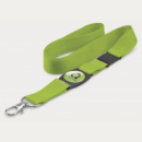 Crest Lanyard+Bright Green