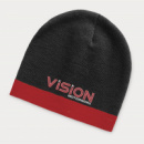 Commando Beanie Two Tone+Red