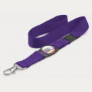 Crest Lanyard+Purple