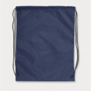 Drawstring Back Pack+Navy