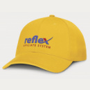 Sierra 6 Panel Heavy Cotton Cap+Yellow