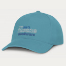 Sierra 6 Panel Heavy Cotton Cap+Light Blue