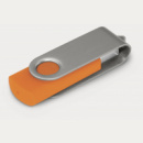 Helix Flash Drive+Silver Orange