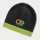 Commando Beanie Two Tone+Bright Green