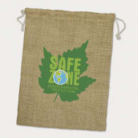 Jute Gift Bag (Large) image