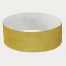Tyvek Wrist Band+Gold
