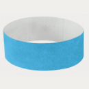 Tyvek Wrist Band+Neon Blue