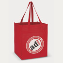 Mega Shopper Tote Bag+Red