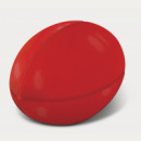 Stress Rugby Ball+Red2