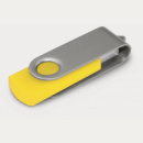 Helix Flash Drive+Silver Yellow
