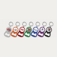 Chevron Bottle Opener Key Ring image