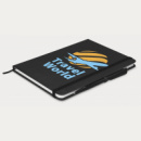 Omega Notebook With Pen+Black+angle