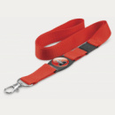 Crest Lanyard+Red
