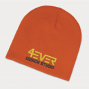 Commando Beanie+Orange