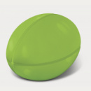 Stress Rugby Ball+Bright Green