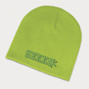 Commando Beanie+Bright Green