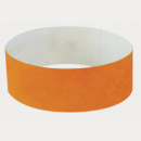 Tyvek Wrist Band+Neon Orange