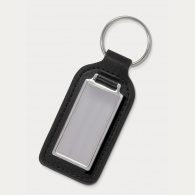 Baron Rectangular Leather Key Ring image