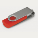 Helix Flash Drive+Silver Red
