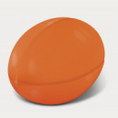 Stress Rugby Ball+Orange