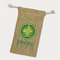 Jute Gift Bag (Small) image