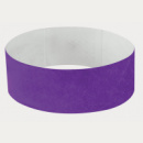 Tyvek Wrist Band+Purple