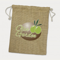 Jute Gift Bag (Medium) image