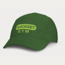 Sport 5 Panel Cap+Dark Green