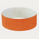 Tyvek Wrist Band+Orange