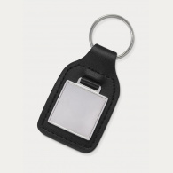 Baron Square Leather Key Ring image