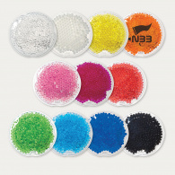 Round Gel Beads Hot/Cold Pack - Small image