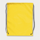 Drawstring Back Pack+Yellow