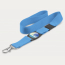 Crest Lanyard+Light Blue