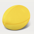 Stress Rugby Ball+Yellow2