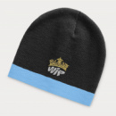 Commando Beanie Two Tone+Light Blue