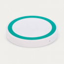 Orbit Wireless Charger White+Teal