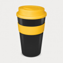 Express Cup Grande Black Cup Yellow