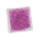 Square Gel Beads HotCold Pack+Purple