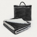 Oslo Luxury Blanket+Black