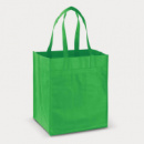 Mega Shopper Tote Bag+Bright Green