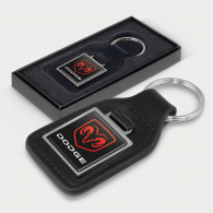 Baron Leather Key Ring (Square) image