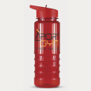 Triton Drink Bottle Colour Match+Red