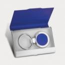 Key Ring and Business Card Holder Blue2