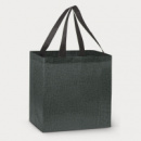 City Shopper Heather Tote Bag+Charcoal