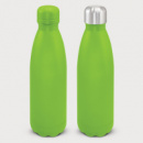 Mirage Powder Coated Vacuum Bottle+Bright Green