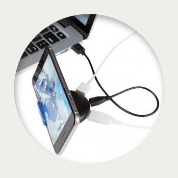 4 Port USB Phone Stand