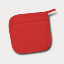 Canvas Pot Holder Red