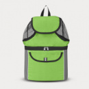 Insulated Beach Backpack+Lime Green