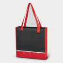 Non Woven Accent Tote Bag Red