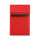 Non Woven Wallet Badge and ID Holder+Red